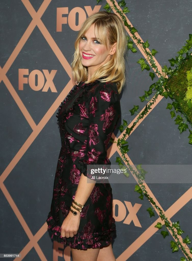 January Jones attends the FOX Fall Party on September 25, 2017 in Los Angeles, California.