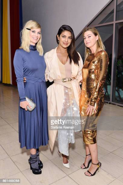 January Jones Priyanka Chopra and Ellen Pompeo at the Hammer Museum 15th Annual Gala in the Garden with Generous Support from Bottega Veneta on...