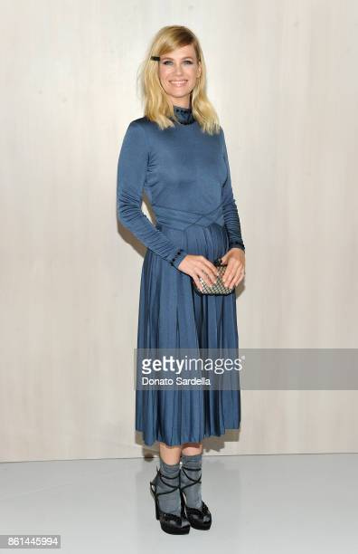 January Jones wearing Bottega Veneta at the Hammer Museum 15th Annual Gala in the Garden with Generous Support from Bottega Veneta on October 14 2017...