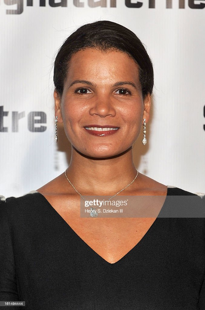 January LaVoy attends the 2013 Signature Theatre Gala at The Signature Center on February 11, 2013 in New York City.
