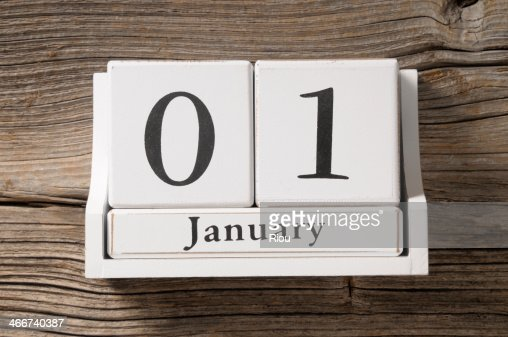 01 january : Stock Photo
