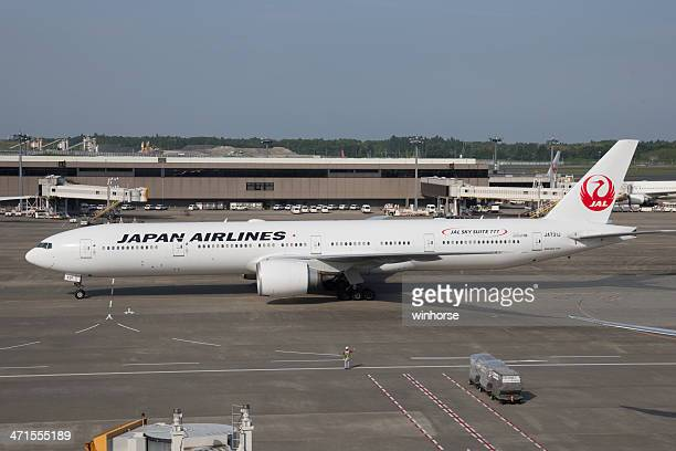 日本の航空のボーイング 777