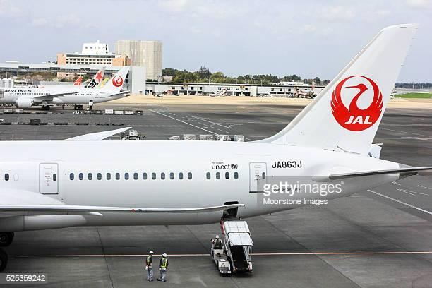 Japan Airlines no Aeroporto de Narita, Tóquio