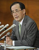 TOKYO Japan Bank of Japan Governor Masaaki Shirakawa speaks at a press conference at the BOJ head office in Tokyo on Nov 30 on the ongoing debt...