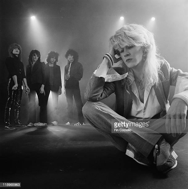 Japan drummer Steve Jansen synthesizer player Richard Barbieri bassist Mick Karn guitarist Rob Dean and singer David Sylvian British New Wave band...