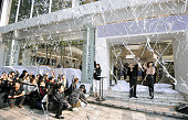 TOKYO Japan Confetti fills the air during the countdown for the iPhone 4S launch at a Softbank Mobile Corp outlet in Tokyo's Shibuya Ward on Oct 14...
