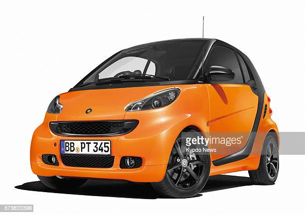 TOKYO Japan File photo shows Daimler AG's special edition of its compact car ''smart fortwo'' MercedesBenz Japan Co an arm of the German automaker...
