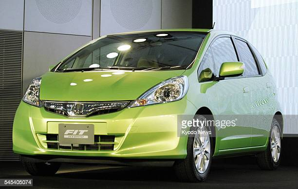 TOKYO Japan File photo shows Honda Motor Co's Fit Hybrid subcompact car the least expensive hybrid vehicle in Japan Reports on Feb 1 said the model...