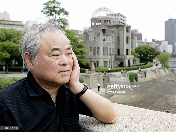 TOKYO Japan File photo taken in June 2008 shows Keiji Nakazawa author of 'Hadashi no Gen' an iconic Japanese comic about the 1945 Hiroshima atomic...