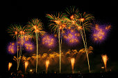 Japan firework competition festi