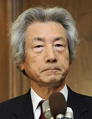 TOKYO Japan Former Japanese Prime Minister Junichiro Koizumi listens to a reporter's question in Tokyo on Dec 19 following news that North Korean...