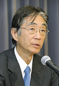 TOKYO Japan Former Keio University President Yuichiro Anzai speaks at a press conference in Tokyo on Jan 11 2011 Anzai said he will not accept the...