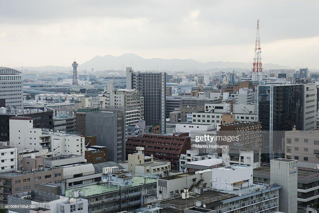 Japan, Fukuoka, cityscape : Stock Photo