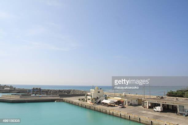 Japan, Harbor view