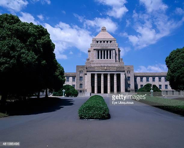 Japan Honshu Tokyo Diet Parliament Building in Nagatacho Chiyodaku