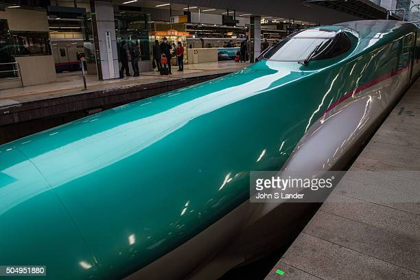 Japan is connected by a network of high speed train lines These fast trains bring passengers to most of Japan's major cities Japan's 'bullet trains'...