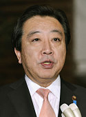 TOKYO Japan Japanese Prime Minister Yoshihiko Noda speaks with reporters at his office in Tokyo on Dec 19 following news that North Korean leader Kim...