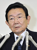 TOKYO Japan Japan's economic and fiscal policy minister Kaoru Yosano speaks during a press conference in Tokyo on the country's gross domestic...