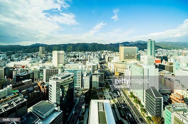 Japan, Kobe, cityscape