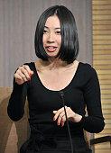 TOKYO Japan Mariko Asabuki a 26yearold graduate school student at Keio University speaks of her winning of Japan's Akutagawa Prize for promising...