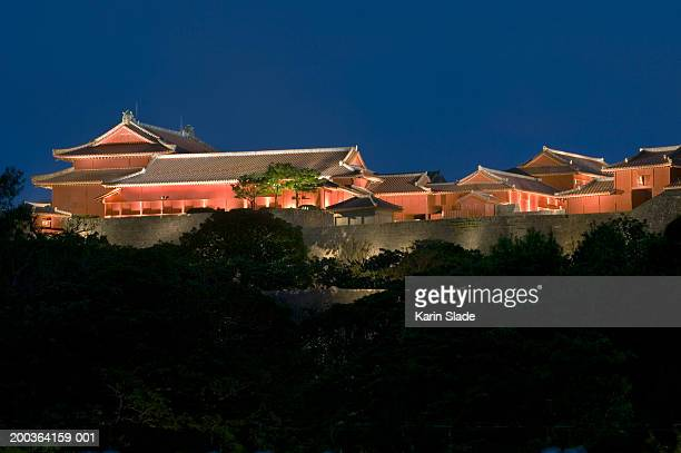 Japan, Okinawa, Naha, Shurijo Castle, night