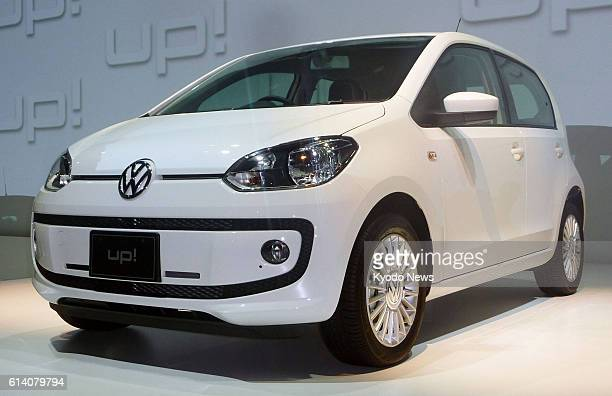 TOKYO Japan Photo shows the Volkswagen 'up' subcompact which the Japanese unit of the German automaker said on Sept 18 it will begin selling in Japan...