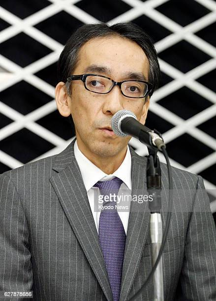 TOKYO Japan Takashi Niigaki a music lecturer speaks at a press conference at a Tokyo hotel on Feb 6 the day after confessing that he has worked as a...