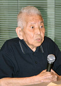 TOKYO Japan This file photo taken in June 2009 shows Tsutomu Yamaguchi a survivor of the US atomic bombings of Hiroshima and Nagasaki in 1945 The...