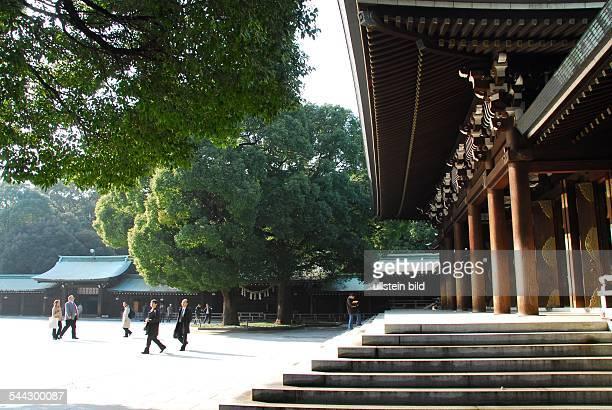 ShintoSchrein Meiji Jingu im Stadtteil Westshinjuku