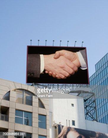 Japan, Tokyo, billboard (Digital Composite) : Stockfoto