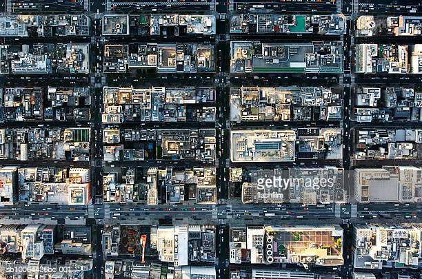 Japan, Tokyo, Ginza, aerial view