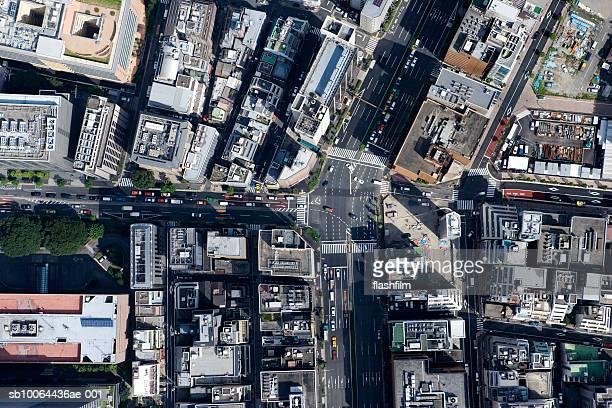 Japan, Tokyo, Hamamatsucho, aerial view
