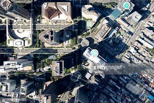 Japan, Tokyo, Shinjuku-ku, Shinjuku, aerial view