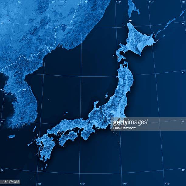 Japan Topographic Map