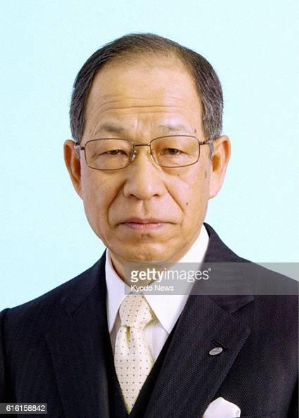 TOKYO Japan Undated file photo shows former Olympus Corp Chairman and President Tsuyoshi Kikukawa Olympus has filed a damages suit against Kikukawa...