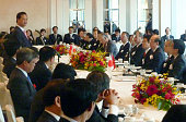 TOKYO Japan Vietnamese Prime Minister Nguyen Tan Dung speaks during a breakfast meeting hosted by Japanese Land Infrastructure Transport and Tourism...
