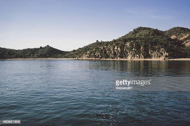 Japan, view to Naoshima Island