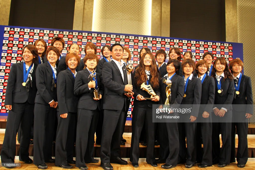 FIFA Women's World Cup Japan Team Return Home