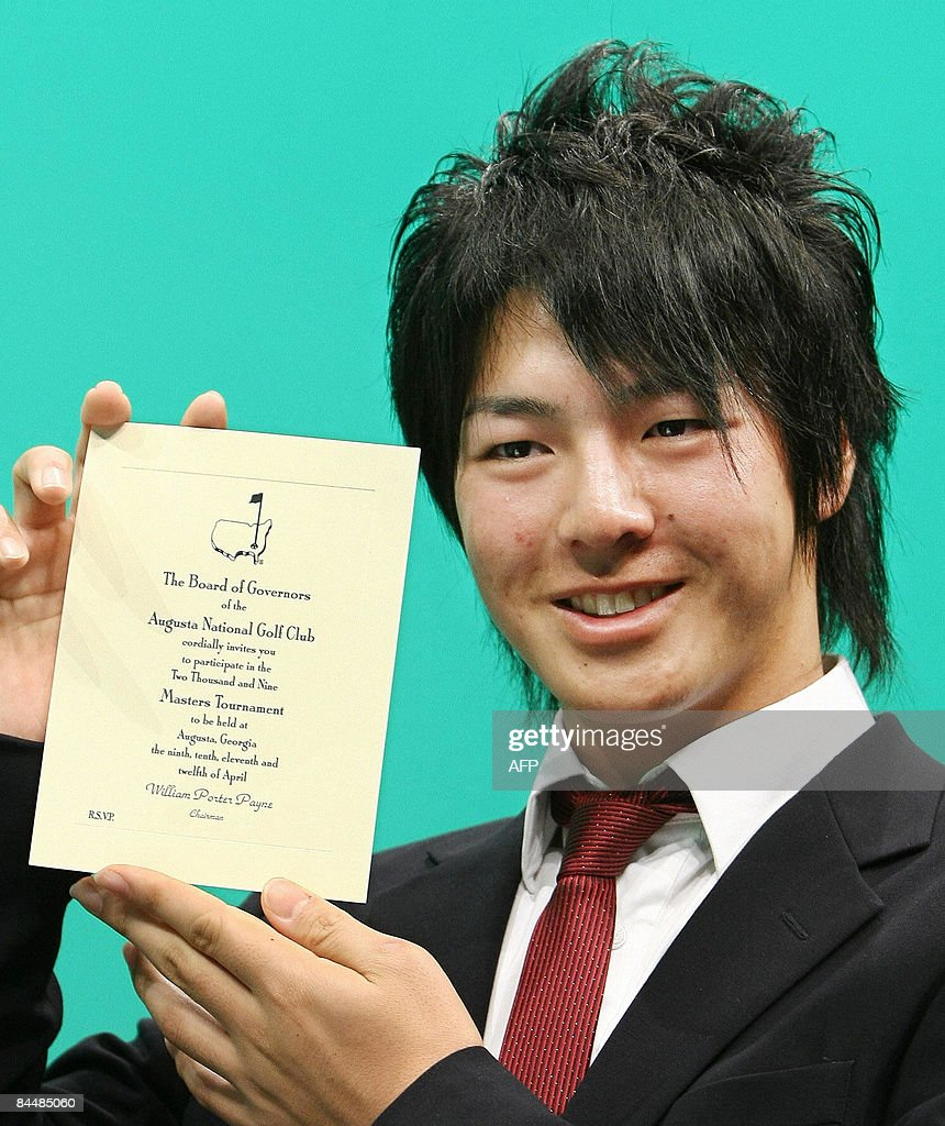 Japanese 17 year old golfer ryo ishikawa pictures getty images japanese 17 year old golfer ryo ishikawa displays an invitation letter for this years stopboris Images
