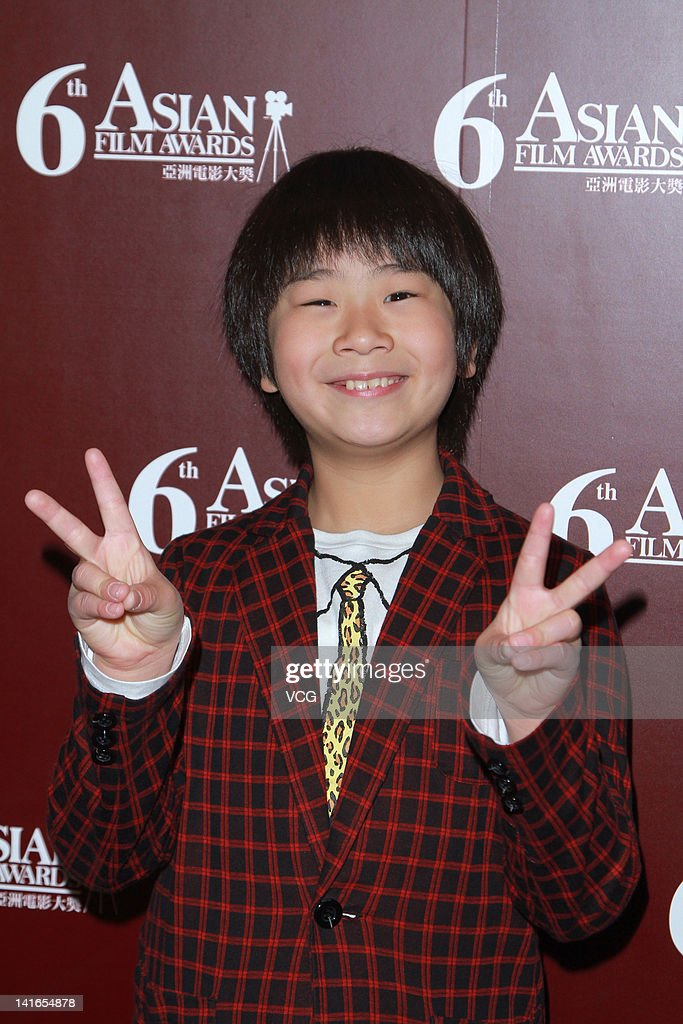 Japanese actor Maeda Ohshiro attends a press conference after the 6th Asian Film Awards on March 20, 2012 in Hong Kong, Hong Kong.