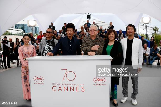 Japanese actress Hana Sugisaki Japanese director Takashi Miike Japanese actor Takuya Kimura British producer Jeremy Thomas Japanese producer Misako...