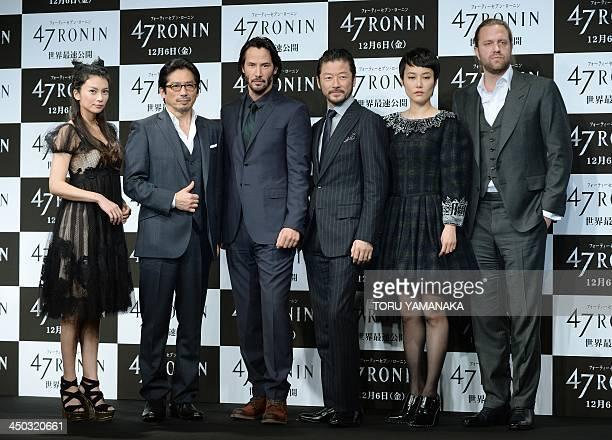 Japanese actress Ko Shibasaki actor Hiroyuki Sanada Canadian actor Keanu Reeves Japanese actor Tadanobu Asano actress Rinko Kikuchi and US director...