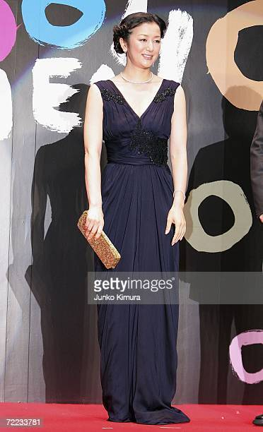 Japanese actress Kyoka Suzuki attends the opening event of the 19th Tokyo International Film Festival on October 21 2006 in Tokyo Japan The festival...