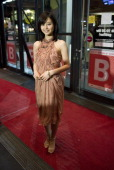 Japanese actress Maki Horikita arrives for the premiere of the film 'Into the White Night' on February 12 2011 in Berlin on the third day of the...