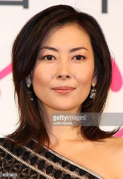 Japanese actress Miho Nakayama attends the 'Sayonara Itsuka' press conference at Mandarin Oriental Tokyo on October 27 2009 in Tokyo Japan the film...