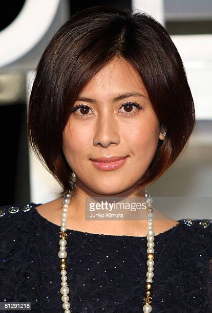 Japanese actress Rie Hasegawa attends Chanel 'Mobile Art' Opening Reception at Yoyogi Olympic Plaza on May 30 2008 in Tokyo Japan