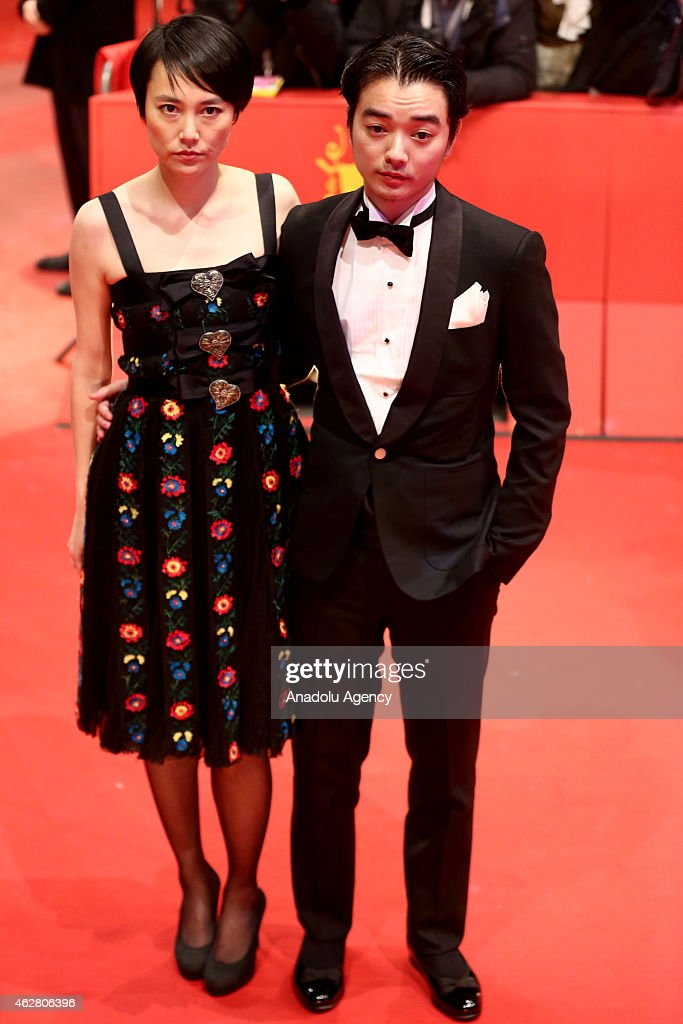 Japanese actress Rinko Kikuchi and her husband Shota Sometani arrive for the 'Nobody Wants the Night' premiere and the opening gala of the 65th...