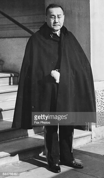 Japanese Ambassador Shigeru Yoshida at Buckingham Palace London March 3rd 1938