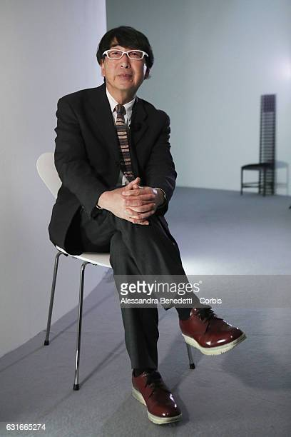 Japanese architect Toyo Ito poses after a conference at Maxxi Museum on January 14 2017 in Rome Italy Toyo Ito is considered one of the world's most...