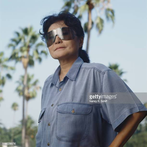 Japanese artist and musician Yoko Ono 1988